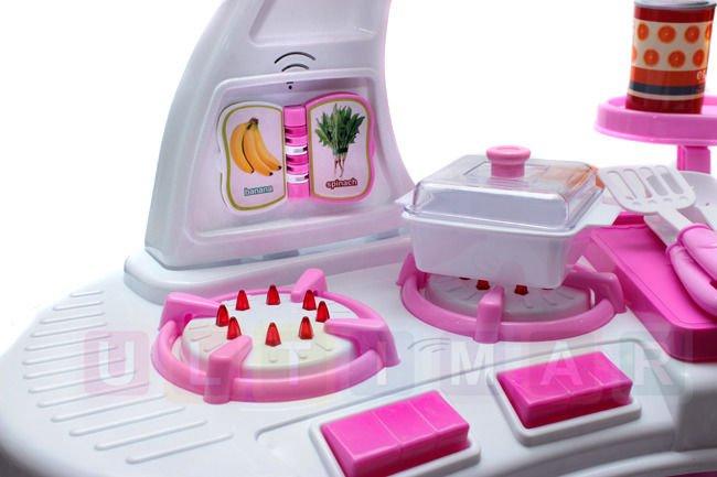 Stylowa Kuchnia Z Dzwiekiem Kran Z Woda Akces Zabawki Dla